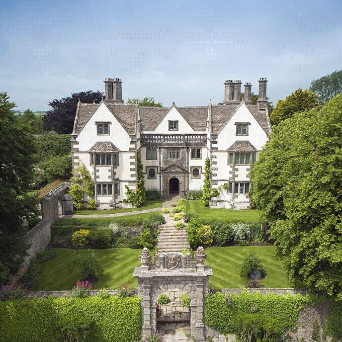 A historic Grade I listed Cotswold #manor house with unparalleled views and spec…